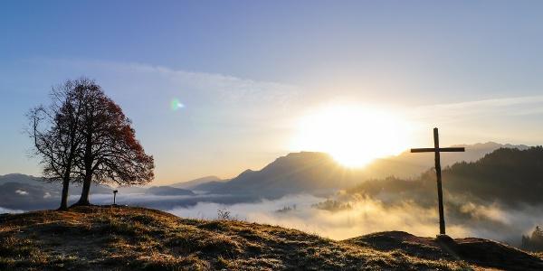 Sonnenaufgang auf dem Hocheck