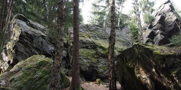 Schwarzer Stein Grünbach
