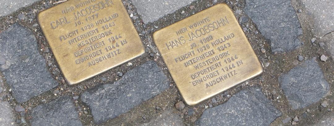 Stolpersteine Carl und Hans Jacobsohn, Bismarkstraße 16, Görlitz