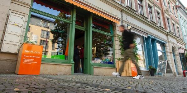 Touristischer Infopunkt Radebeul-Kötzschenbroda