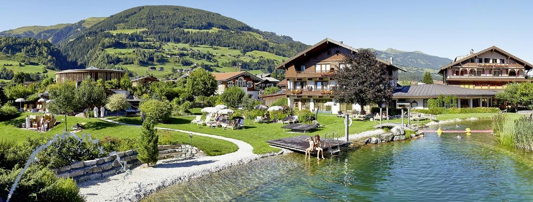 Wanderhotel Kirchner mit Badesee