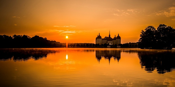 Schloss Moritzburg, benannt nach dem sächsischen Kurfürst Moritz