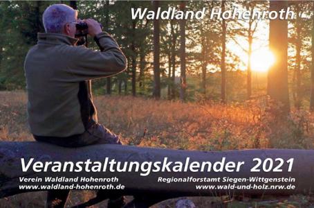 Waldland Hohenroth - Veranstaltungskalender 2021