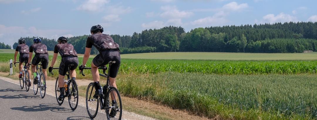 Rennrad Fahrer