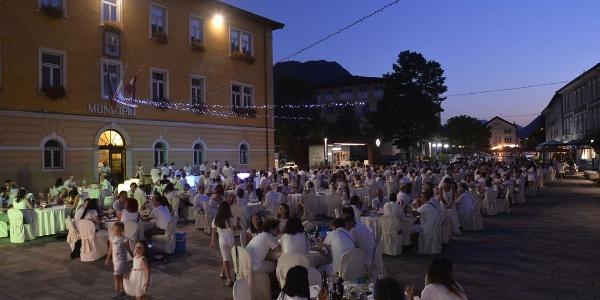 Cena in bianco Borgo Valsugana