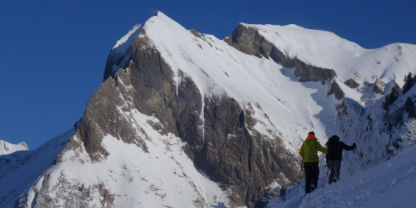 The notorious Rädlergrat on the Himmelhorn in the background