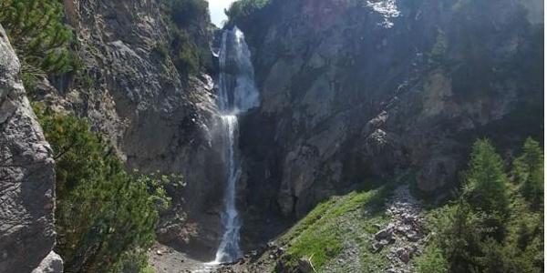 Wasserfall Sanaspans, Lenzerheide