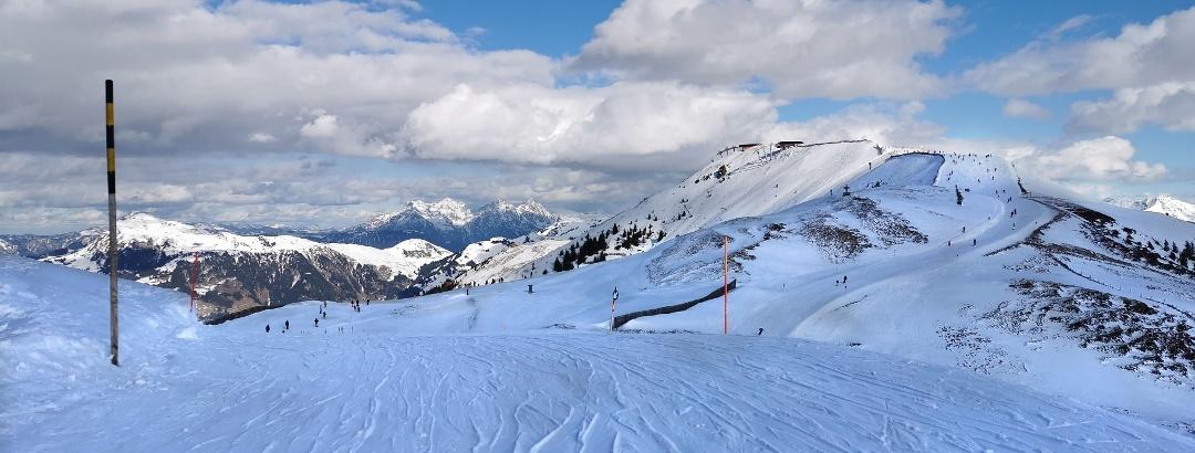 Kitzbühel Alps in winter