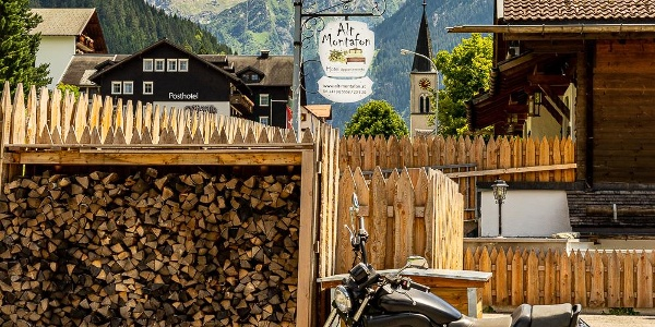 Alt Montafon mit Blick auf Vallüla im Sommer