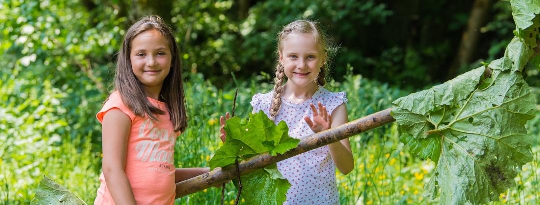 Kinder Oben im Harz
