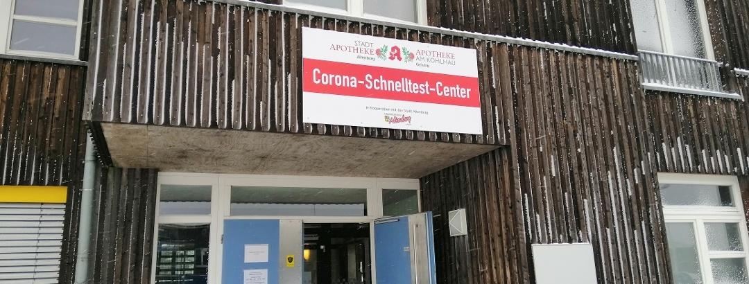 Corona-Schnelltest-Center Zinnwald