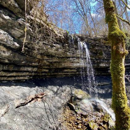 Mundelfinger Wasserfall am Aubächle