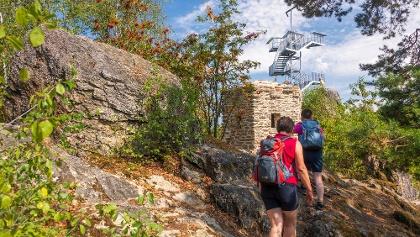 Aussichtsturm auf dem Spitzen Stein