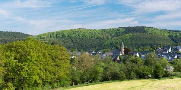 Dorf Holthausen im Schmallenberger Sauerland