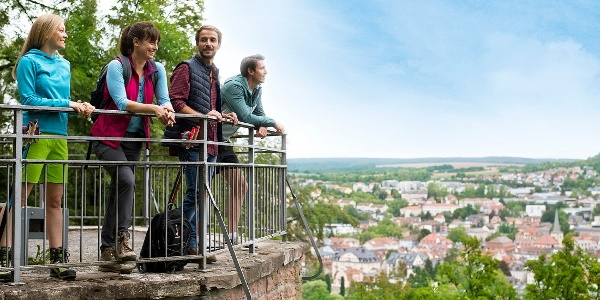 Ausblick über Bad Kissingen