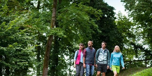 Wandergruppe in Bad Kissingen