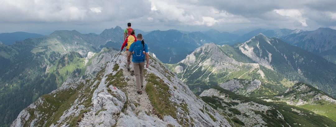 Gratwanderung mit Gipfelpanorama