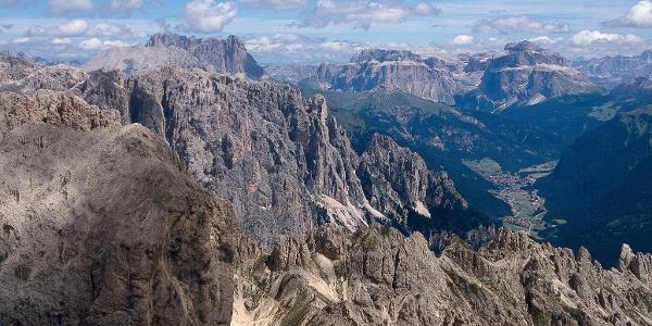 La panoramica Roda di Vaèl in Val di Fassa vi aspetta.