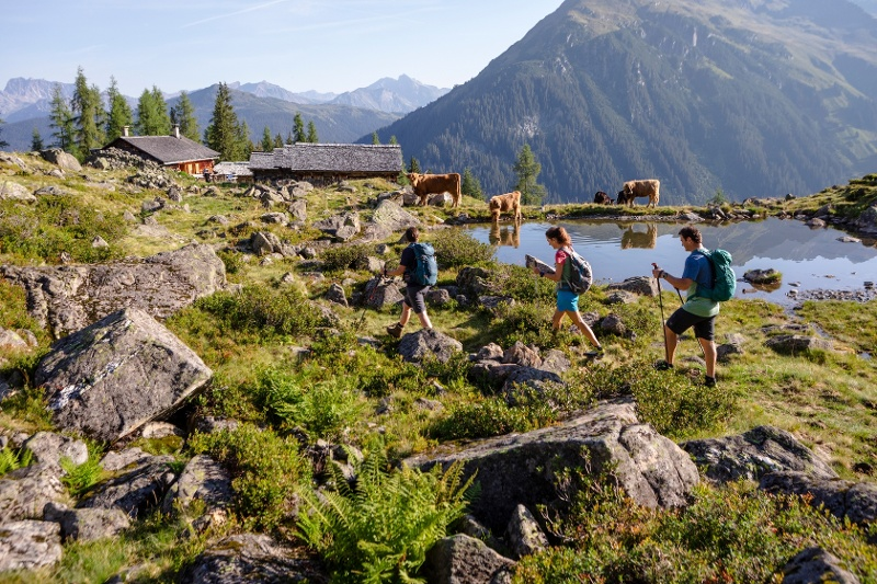 Wanderung zur Alpguesalpe