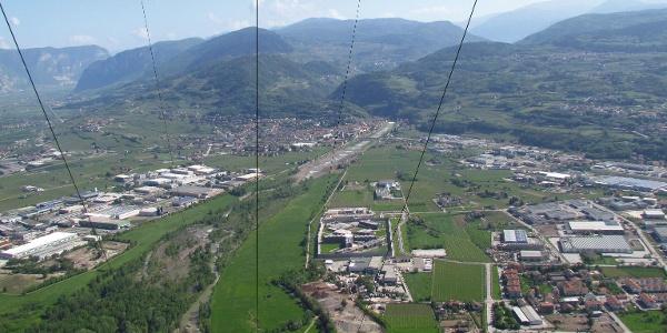 Panorama vom Bocca Paloni