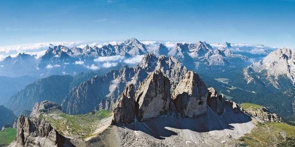 Das Eldorado der Dolomiten