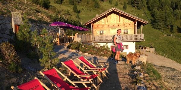 Die Wanderung führt von Oberwielenbach, am Eingang des Wielentales, hinauf zur Gönneralm.
