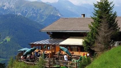 Diese Tour führt über die Prantneralmhinauf ins ehemalige Skigebiet Hühnerspiel.