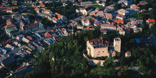 Bruneck mit Schloss Bruneck