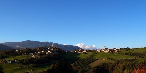 Fiè allo Sciliar, an ideal place for bikers.