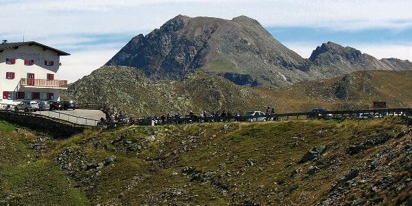 Kurze Bergtour vom Penser Joch auf den nahegelegenen Zinseler.