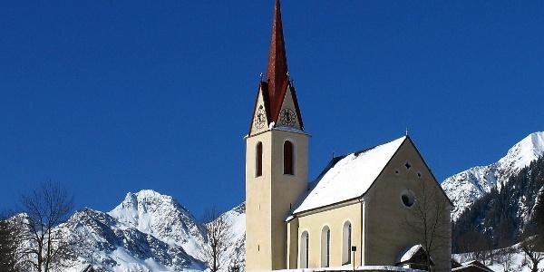 Kirche von Bichl in Ratschings