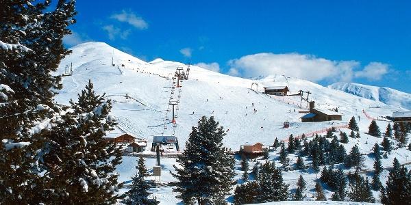 Die Plose ist ein bekannter Skiberg bei Brixen