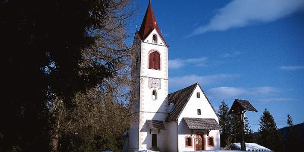 Kirche von St. Helena in Ulten