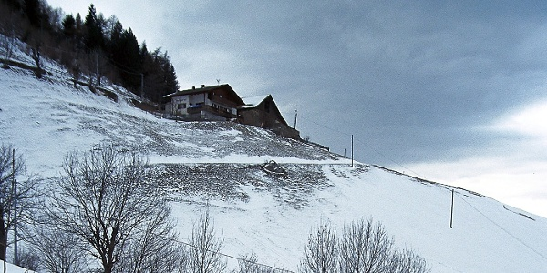 Der Oberhof im Weiler Tomberg im Vinschgau