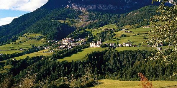 Das Dorf Tiers, Startpunkt der Wanderung