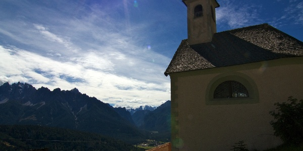 A small chapel in Stadlern, a small village above Wahlen in the valley Silvestertal.
