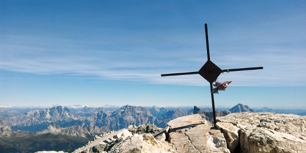 Alleghesi-Klettersteig, einer der anspruchsvollsten Anstiege der Dolomiten