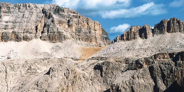 Klettersteigtour auf den Piz Selva