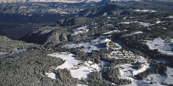 Panoramablick über Aldein im Unterland
