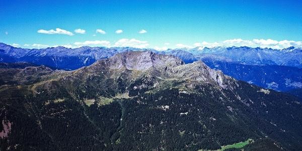 Der große Laugen: Verbindung zwischen dem Ultental und dem Deutschnonsberg