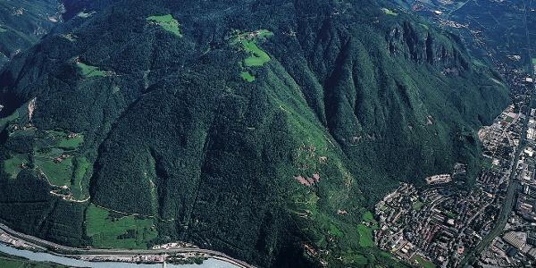 Der Kohlerer Berg bei Bozen