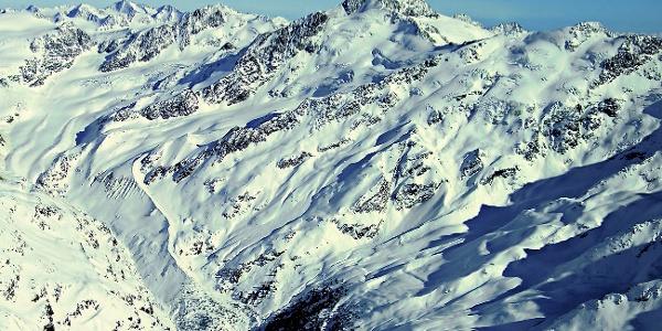 The mountain summit: Cima Barba d'Orsa di Fuori