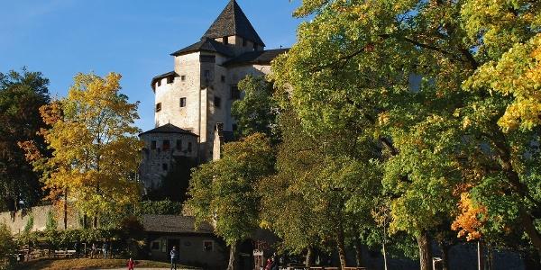 The imposant Castel Colona castel near Fiè village.