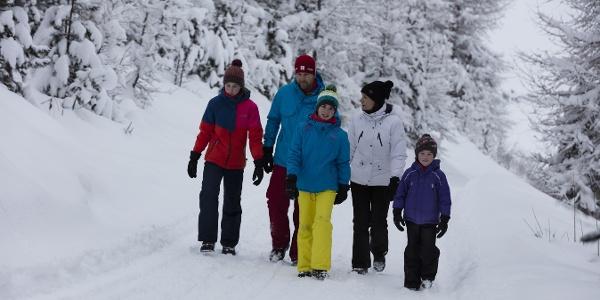 Wunderschöne Winterwanderung zur Ochsenbergalm