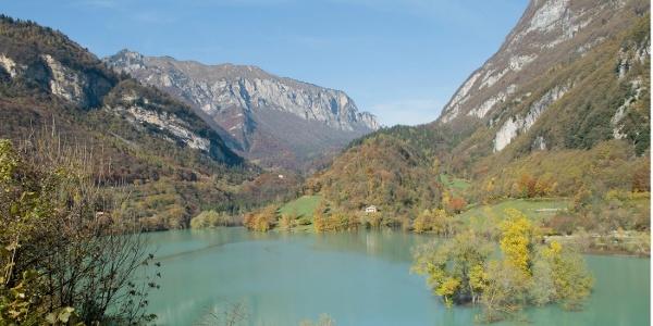 Idylle unter dem Monte Misone: der Lago di Tenno