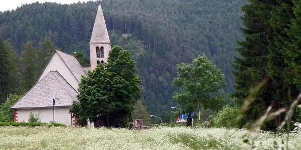 Klasse Bergtour mit wenig Verkehr nach Tesero im Fleimstal.