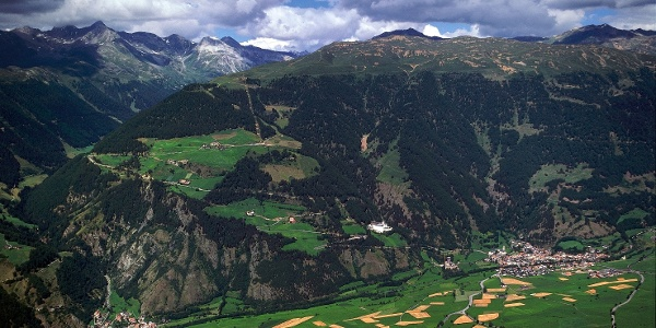 Der Watles, oberhalb von Burgeis, wird von der Plantapatschhütte bestiegen.