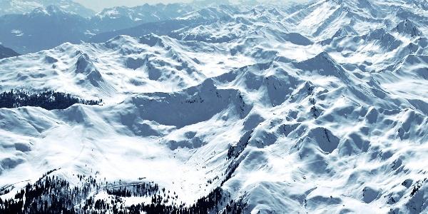 The peak Einachtspitze in the Val Ridanna.