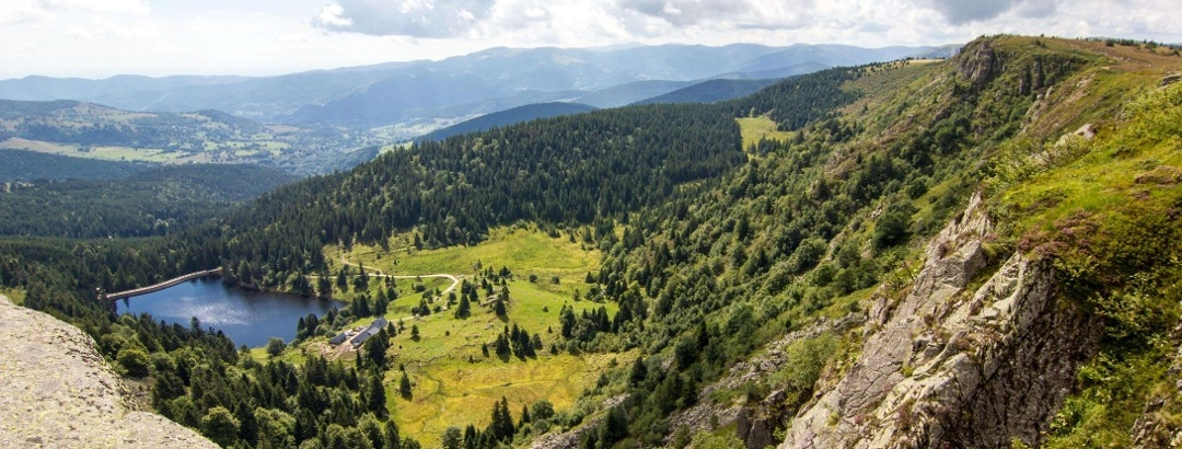 Route des Crêtes - Lac du Forlet