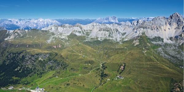 Klettersteigtour über den Gipfel der Cima della Costabella